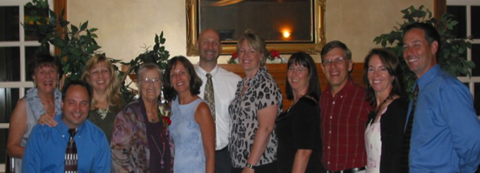 Fran, Jay, Karen, Margaret, Chantal, Joe, Suzy, Laurel, Fred, Dana, and Neil