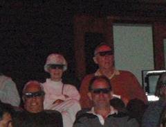D&D in the back row wearing 3D glasses
