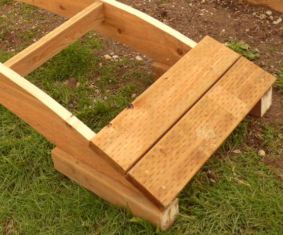 How To Build A Wooden Garden Bridge