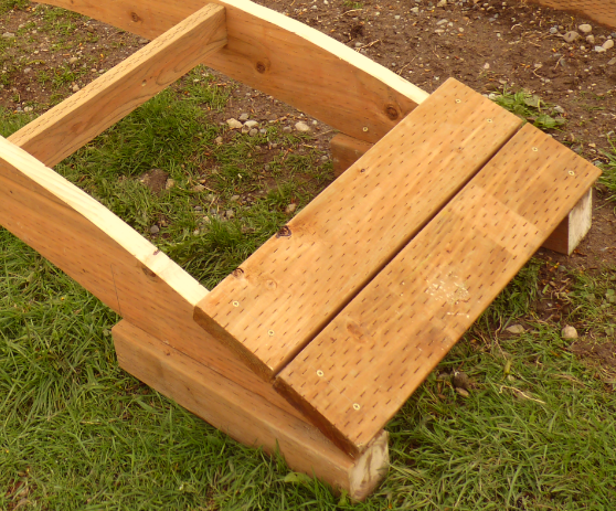 How To Build A Wooden Garden Bridge