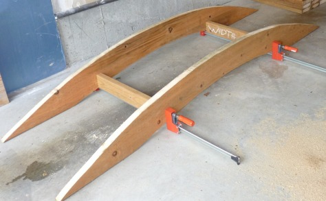 woodworking garden bridge