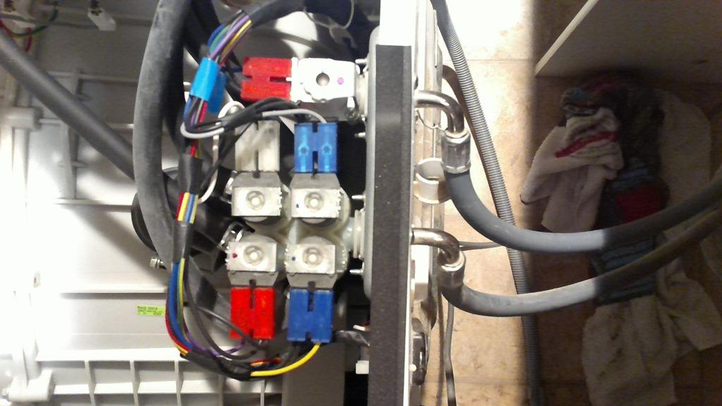 water intake valve washing machine